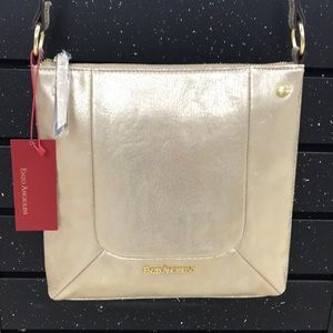 Enzo Angiolini gold crossbody